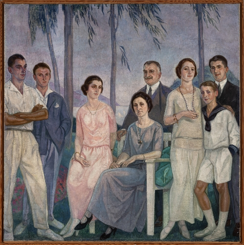 Retrato de la familia Madariaga-Astigarraga