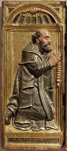 Donante (Diego Martínez de Salvatierra) del conjunto funerario de los Martínez de Salvatierra