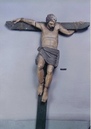 Buen Ladrón crucificado