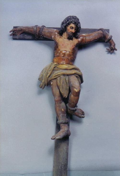 Mal Ladrón crucificado
