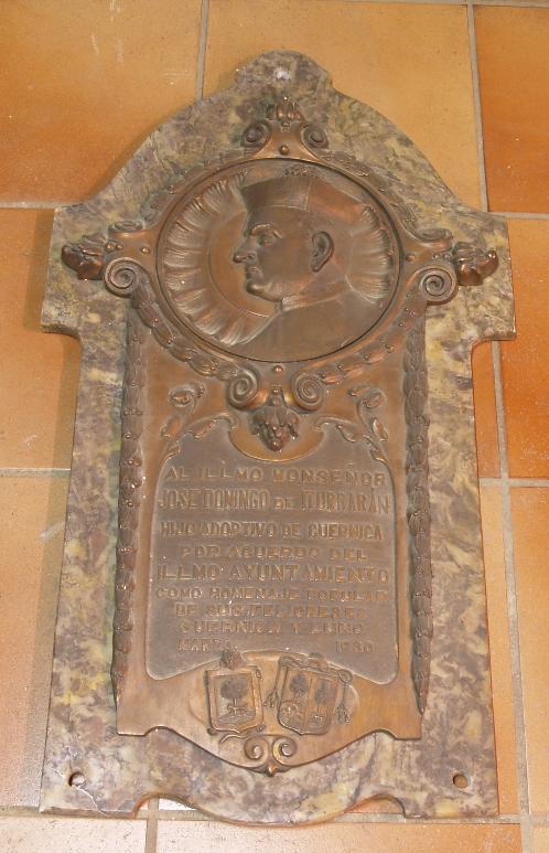 Lápida Domingo de Iturrarán