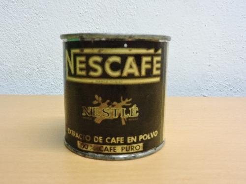 Bote de café en polvo