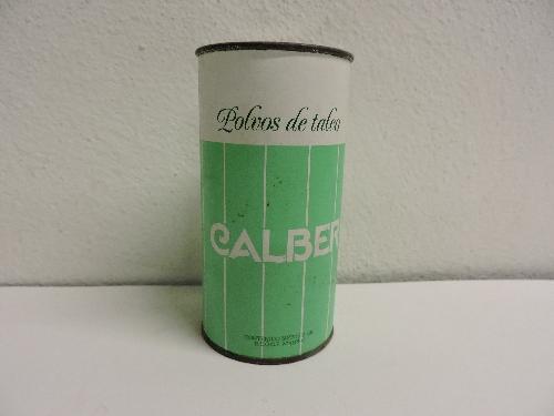 Bote de polvos talco CALBER